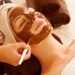 Maska dlja lica iz kakao