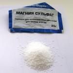 Sulfat magnija dlja ochishhenija kishechnika